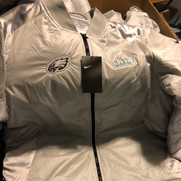 buy popular dac58 f9aa7 Super Bowl 52 eagles and patriots jackets
